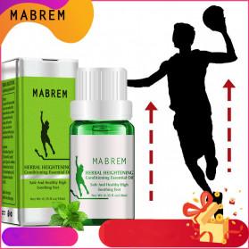 MABREM Minyak Peninggi Badan Herbal Heightening Conditioning Essential Oil 10ml - M011 - Green
