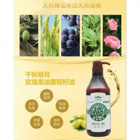 QianQiuMingYue Minyak Badan Herbal Body Moisturizing Oil Rose 800ml - QY11 - 4