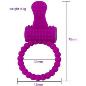 MaYaMang Vibrator Pijat Tubuh Elektrik Pria Stimulate - B1901 - Pink - 3