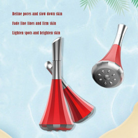 Cemaadu Eye Massager Alat Pijat Mata Lifting Tighten Magnetic Vibration - HYJ-507 - White - 4