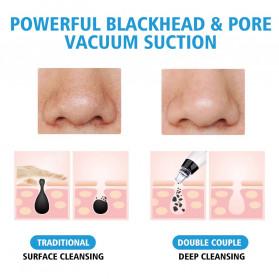 Hailicare Vacuum Suction Komedo Wajah Skin Face Care Blackhead Pore Cleaner 5 Heads - 3107 - White - 4