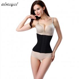 Aimgui Korset Body Shaper Modeling Strap Waist Underwear Women Slimming Abdomen Size L - BBJ-20 - Black