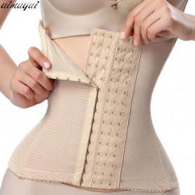 Aimgui Korset Body Shaper Modeling Strap Waist Underwear Women Slimming Abdomen Size XL - BBJ-20 - Black - 6