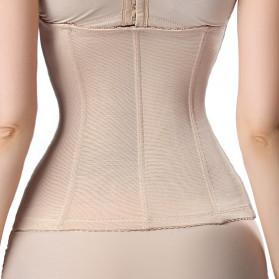 Aimgui Korset Body Shaper Modeling Strap Waist Underwear Women Slimming Abdomen Size XL - BBJ-20 - Black - 7