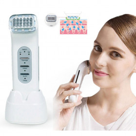 ICOCO Alat Pijat Wajah RF Radio Frequency Beuty Face Lifting Tightening - HYJ-822 - White