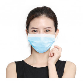 YAJIE Masker Bedah Filter Udara Anti Polusi Virus Corona 3-Ply 1 PCS - Blue - 2