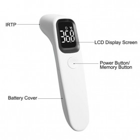 BBLOVE Thermometer Suhu Tubuh Digital Infrared Non Contact LED - AET-R1D1 - White - 2