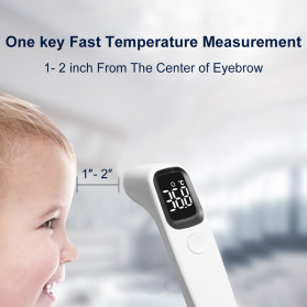 BBLOVE Thermometer Suhu Tubuh Digital Infrared Non Contact LED - AET-R1D1 - White - 5