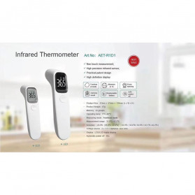 BBLOVE Thermometer Suhu Tubuh Digital Infrared Non Contact LED - AET-R1D1 - White - 7