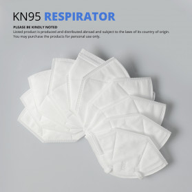 ANHUI Masker Anti Polusi Virus Corona KN95 1 PCS - SY9600 - White - 2