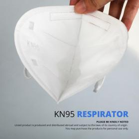 ANHUI Masker Anti Polusi Virus Corona KN95 1 PCS - SY9600 - White - 4
