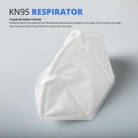 ANHUI Masker Anti Polusi Virus Corona KN95 1 PCS - SY9600 - White - 5