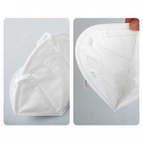 ANHUI Masker Anti Polusi Virus Corona KN95 1 PCS - SY9600 - White - 6