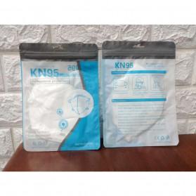 ANHUI Masker Anti Polusi Virus Corona KN95 1 PCS - SY9600 - White - 9
