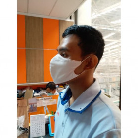 Sritex Masker Kain Anti Polusi Rewashable 1 PCS - White - 5