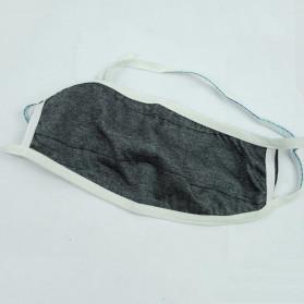 YAJIE Masker Kain Anti Polusi Rewashable 1 PCS - Gray