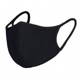 MERALL Masker Scuba Kain Anti Polusi Rewashable 1 PCS - Black