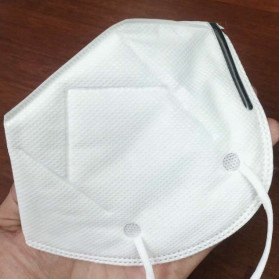 YOMASI Masker Anti Polusi Virus Corona KN95 2 PCS - YMS-AN95 - White - 4