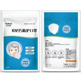 YOMASI Masker Anti Polusi Virus Corona KN95 2 PCS - YMS-AN95 - White - 7