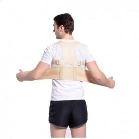 Genkent Tali Body Harness Korektor Postur Punggung Lumbar Support Size S - LSS-15 - Natural - 3