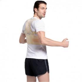 Genkent Tali Body Harness Korektor Postur Punggung Lumbar Support Size L - LSS-15 - Natural - 2