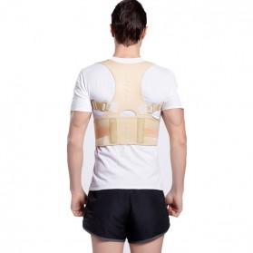 Genkent Tali Body Harness Korektor Postur Punggung Lumbar Support Size XXL - LSS-15 - Natural