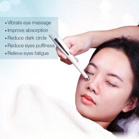 FOREVERLILY Alat Pijat Mata Electric 2 in 1 Pen Eye Mini Massager Anti Aging - ECD51 - White - 2