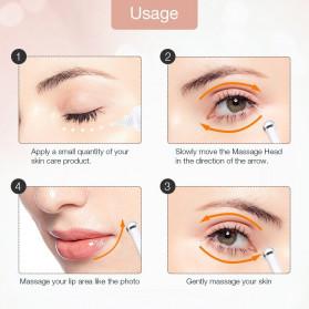 FOREVERLILY Alat Pijat Mata Electric 2 in 1 Pen Eye Mini Massager Anti Aging - ECD51 - White - 6