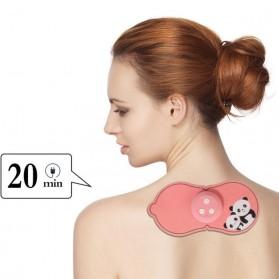 PASTSKY Alat Pijat Cervical Massage Stimulator Stickers Rechargeable - SC-040 - Pink - 3