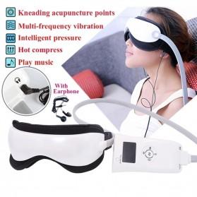Beurha Alat Pijat Mata Elektrik Eye Massager + Music Relaxing - HQ-365 - White
