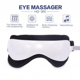 Beurha Alat Pijat Mata Elektrik Eye Massager + Music Relaxing - HQ-365 - White - 3