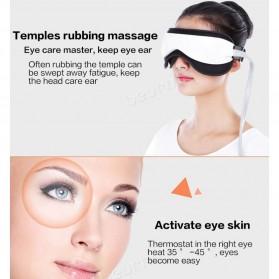 Beurha Alat Pijat Mata Elektrik Eye Massager + Music Relaxing - HQ-365 - White - 5