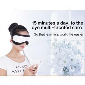 Beurha Alat Pijat Mata Elektrik Eye Massager + Music Relaxing - HQ-365 - White - 6