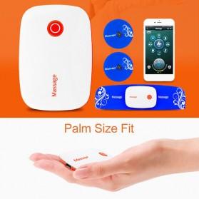 PASTSKY Alat Pijat Therapy Massage Stimulator Stickers Bluetooth Control - SC-040 - Blue - 3