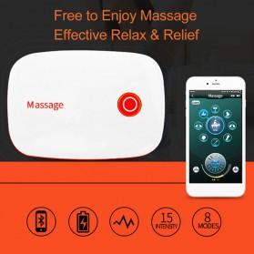 PASTSKY Alat Pijat Therapy Massage Stimulator Stickers Bluetooth Control - SC-040 - Blue - 4