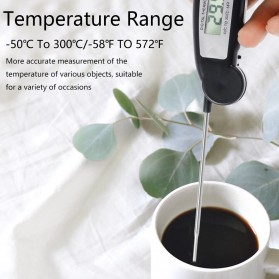 Anpro Digital Food Thermometer Meat BBQ Foldable Probe - HY-2701 - Black - 7