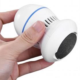 Alloet Alat Perawatan Telapak Kaki Pedicure Foot Elektrik Charger PG21 - White - 3