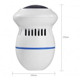 Alloet Alat Perawatan Telapak Kaki Pedicure Foot Elektrik Charger PG21 - White - 8