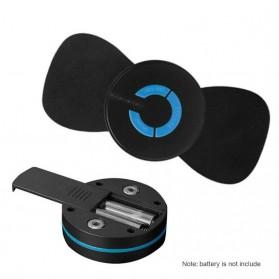 YOVIP Alat Pijat Mini Portable EMS Leher Neck Cervival Massager Stimulator - HQ-185 - Black - 2