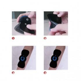 YOVIP Alat Pijat Mini Portable EMS Leher Neck Cervival Massager Stimulator - HQ-185 - Black - 5