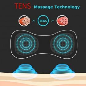 YOVIP Alat Pijat Mini Portable EMS Leher Neck Cervival Massager Stimulator - HQ-185 - Black - 6