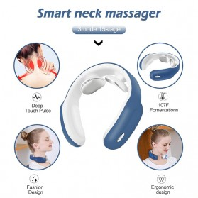 NEWLLEXX Alat Pijat Leher Neck and Shoulder Massager Pain Relief - 300TC - White - 3