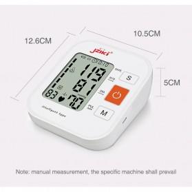 JZIKI Pengukur Tekanan Darah Electronic Sphygmomanometer with Voice - ZK-B877 - Black - 11