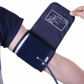 JZIKI Pengukur Tekanan Darah Electronic Sphygmomanometer with Voice - ZK-B877 - Black - 2