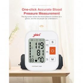 JZIKI Pengukur Tekanan Darah Electronic Sphygmomanometer with Voice - ZK-B877 - Black - 3