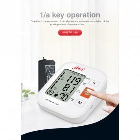 JZIKI Pengukur Tekanan Darah Electronic Sphygmomanometer with Voice - ZK-B877 - Black - 5
