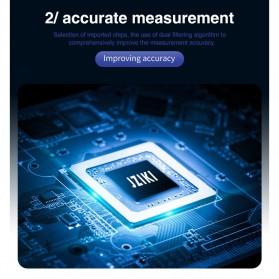 JZIKI Pengukur Tekanan Darah Electronic Sphygmomanometer with Voice - ZK-B877 - Black - 6