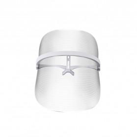 JInDING Masker Perawatan Wajah LED 3 Colors Light Rejuvenation Skin Care - LD310 - Transparent