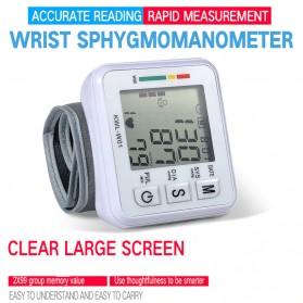 JZIKI Pengukur Tekanan Darah Electronic Sphygmomanometer- KWL-W01 - White
