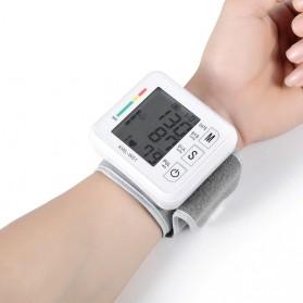 JZIKI Pengukur Tekanan Darah Electronic Sphygmomanometer- KWL-W01 - White - 2